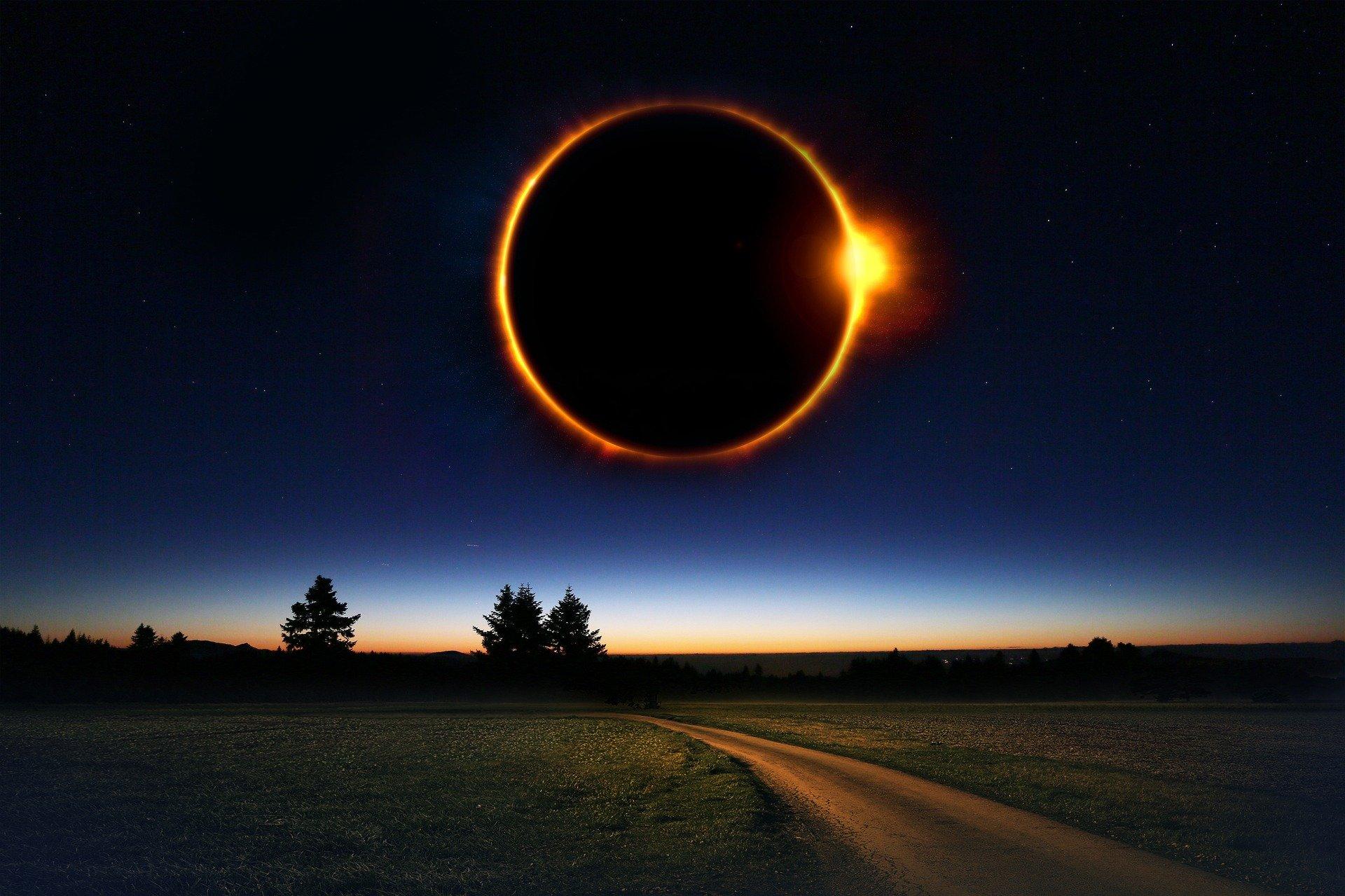 Éclipse solaire au QUEBEC