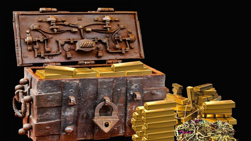 Un trésor en pièces d'or découvert dans un manoir Breton